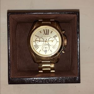 Michael Kors large gold watch